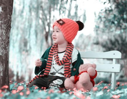 可爱多儿童摄影